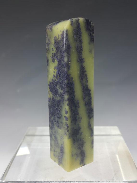 Ribbon Blue Star Seal Shoushan Stone